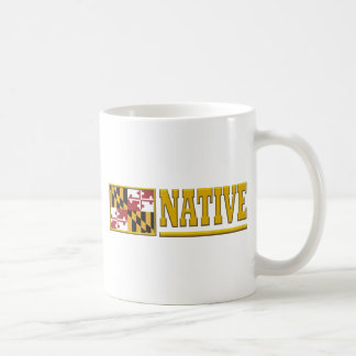 Maryland Native Coffee Mug