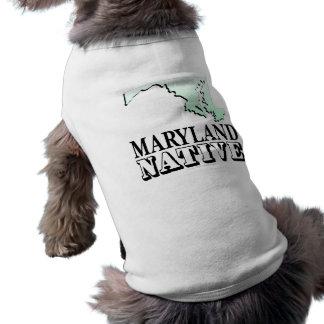 Maryland Native Sleeveless Dog Shirt