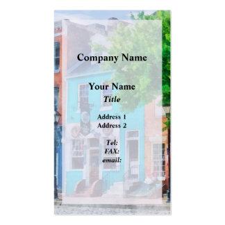 Maryland - Neighborhood Pub Fells Point MD Business Card Template