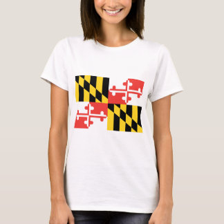 Maryland  Official State Flag T-Shirt