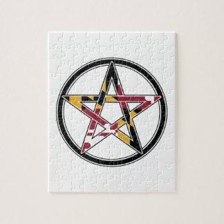 Maryland Pagan transparent Jigsaw Puzzle