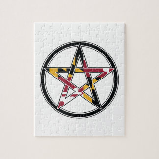 Maryland Pagan transparent Puzzle