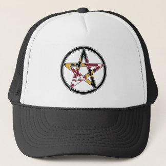 Maryland Pagan transparent Trucker Hat