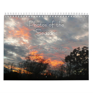 Maryland Photos of the Seasons Calendar
