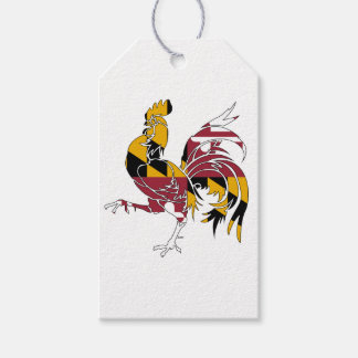 Maryland Rooster Gift Tags