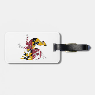 Maryland Rooster Luggage Tag