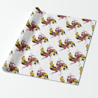 Maryland Rooster Wrapping Paper