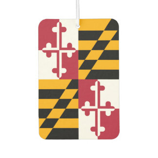 Maryland State Flag Colors Display