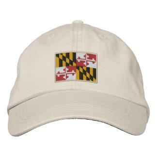 Maryland State Flag Design Baseball Cap