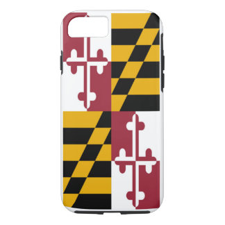 Maryland State Flag iPhone 8/7 Case