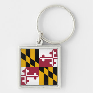 Maryland State Flag Key Ring