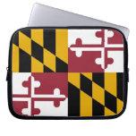 Maryland State Flag Laptop Sleeve