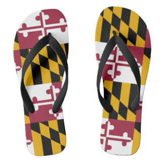 Maryland State Flag Thongs