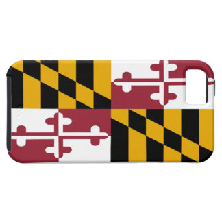 Maryland State Flag Tough iPhone 5 Case