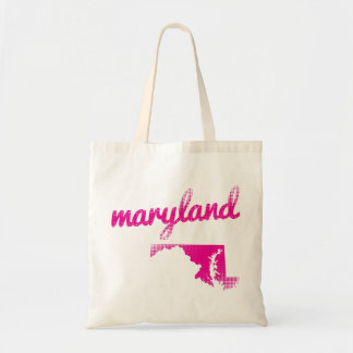 Maryland state in pink