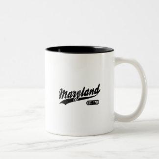 Maryland State Two-Tone Coffee Mug