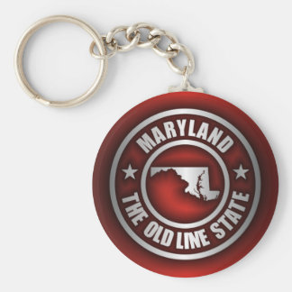 """Maryland Steel 2"" Keychains"