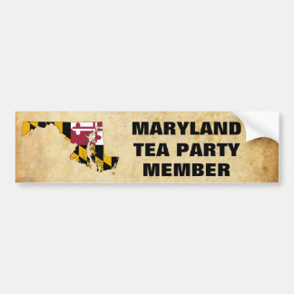 MARYLAND TEA PARTY BUMPER STICKER
