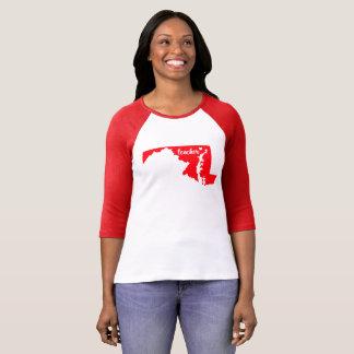Maryland Teacher Tshirt (Red)