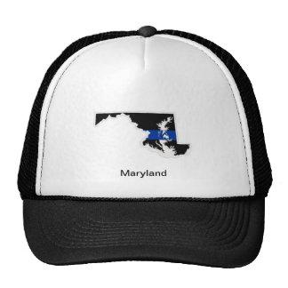 Maryland Thin Blue Line Trucker Hat
