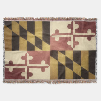 Maryland Throw Blanket