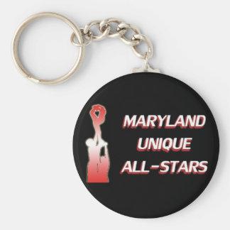 Maryland Unique Basic Round Button Key Ring