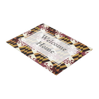 Maryland Welcome Home Doormat - Customizable