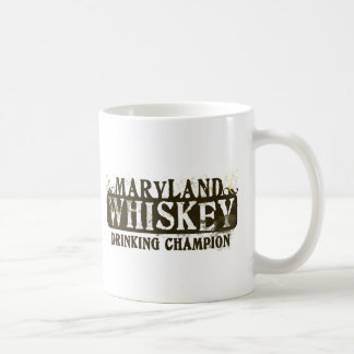 Maryland Whiskey Drinking Champion Coffee Mug