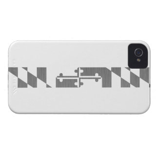 Maryland White Ops Uniforms iPhone 4 Case