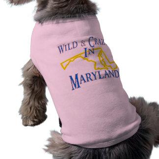 Maryland - Wild and Crazy Sleeveless Dog Shirt