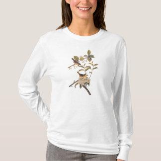 Maryland Yellowthroat Audubon Birds in Olive Tree T-Shirt