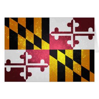 Marylander Flag Note Card