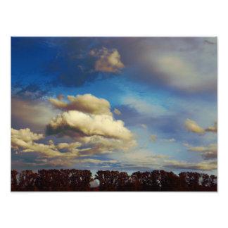 Marymoor Park Sky Photographic Print