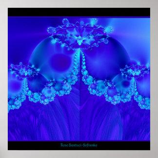 Marys Veil Fractal Posters