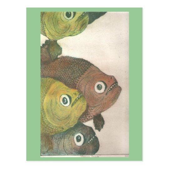 mas piranhas postcard
