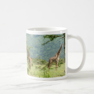 Masai Giraffes in the Serengeti Mug