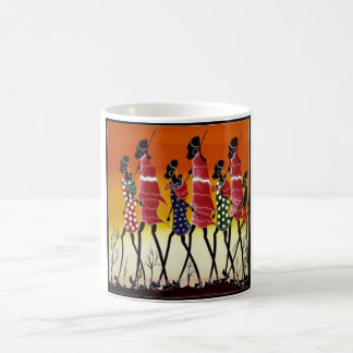 Masai Tribe Coffee Mugs