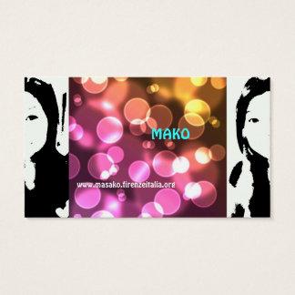 masako business card