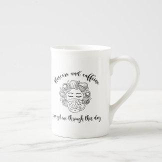 Mascara and Caffeine Mug