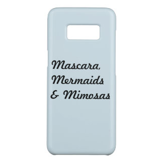 Mascara, Mermaids & Mimosas Case-Mate Samsung Galaxy S8 Case