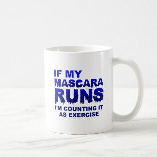 Mascera Runs Exercise Funny Mug