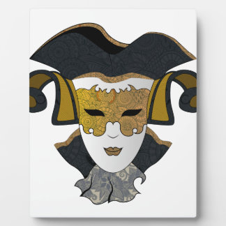 Maschera-Veneziana Plaque