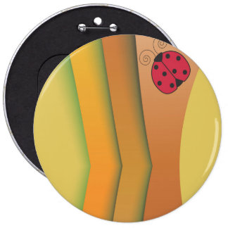 mascot 6 cm round badge