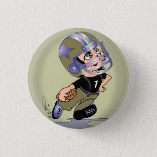 MASCOTTE CARTOON FOOTBALL  Button Small