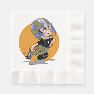 MASCOTTE CARTOON  NAPKINS Coined Luncheon Disposable Napkin