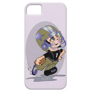 MASCOTTE FOOTBALL CARTOON iPhone SE + iP5/5 BT iPhone 5 Case