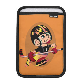 MASCOTTE HOCKEY CARTOON   iPad Mini iPad Mini Sleeve