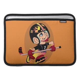 "MASCOTTE HOCKEY CARTOON   Macbook Air 11"" HORIZONT Sleeve For MacBook Air"