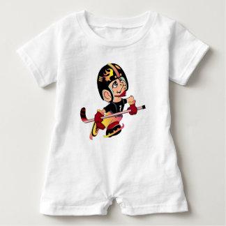 MASCOTTE HOCKEY PLAYER BABY CUTE Baby Romper Baby Bodysuit
