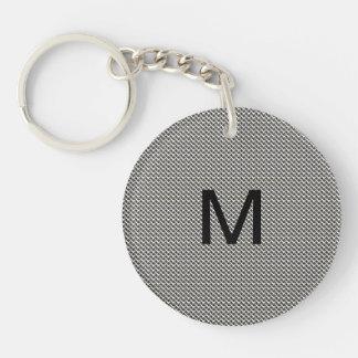 Masculin Men's Monogram Keychain